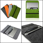Smart Wool Felt Sleeve Case Cover Bag for 11 Inch Tablet Macbook Tablet Accessories