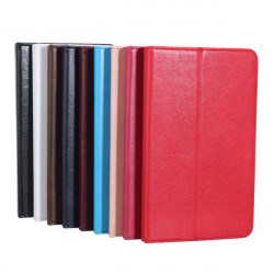 Splicing Design Folio PU Leather Case Cover For Samsung T320 Tablet