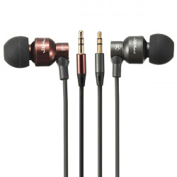 Super Bass Stereo In-Ear Hörlur Headset 3,5 Mm Kontakt för Surfplatta