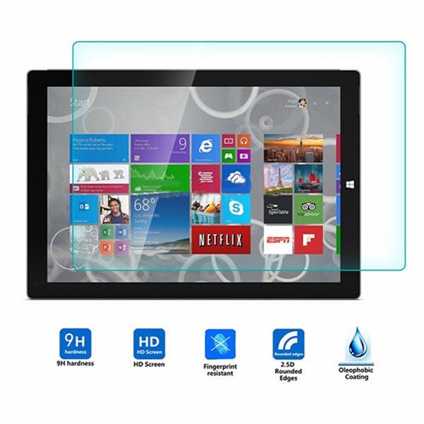Hærdet Glas Skærmbeskyttelse Film til Microsoft Surface Pro 3 Tablet Tablet Tilbehør