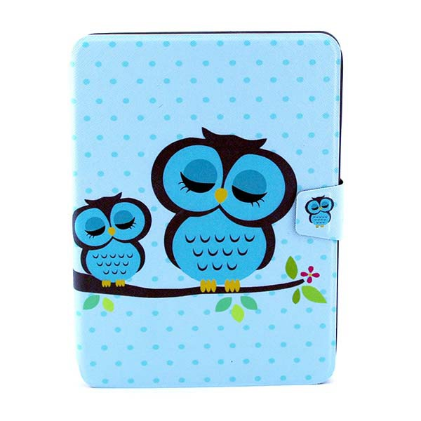 The Owl Pattern Rotating Bracket Case Cover For Samsung P5200 Tablet Accessories
