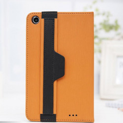 Toothpick Masklike Durable Hand Strap Leather Case For Lenovo A3000