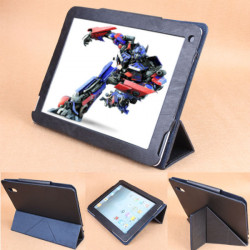 Transformers Design PU Leather Case Folding Stand For PIPO P1