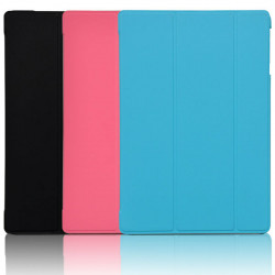 Tri-fold PU Leather Case Stand Cover For HP10 2101RA HP10 Plus 2201RA