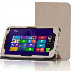 Tri-fold PU Leather Case Stand Cover For HP stream8 Tablet