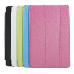 Tri-fold PU Læder Folding Stativ Cover Etui til Teclast P90 Tablet