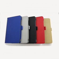 Two Fold Vertical Stripe Case Cover for Acer B1-720 Tablet