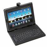 USB Tastatur Leder Standplatz  Hülle Etui für 10 Zoll Android Tablet PC Tablet Zubehör