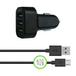 Universal 5V 3 Port USB Car Charger Plug For Tablet Cellphone