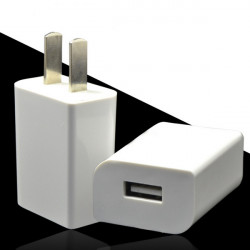 Universal US 5V 1A Väggladdare Plug för Surfplatta Mobiltelefon