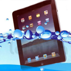 Vandtæt Clear Surper Thin Elastic PU Case til iPad 2 3 4