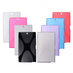 X-Line TPU Silicone Soft Case Back Cover For Sony Z3 Compact Tablet