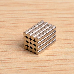 100st N40 D2X2mm Neodymiummagneter Rare Earth Magnet