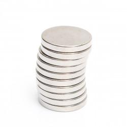 10stk 20mmx3mm Round Neodym Magneter Rare Earth Magnet