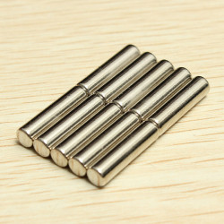 10PCS D4mmx16mm N42 Round Neodymium Magnets Rare Earth Magnet
