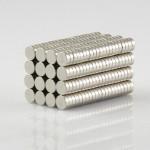 10st N50 3mmx1mm Runda Neodymiummagneter Rare Earth Magnet Coola Prylar