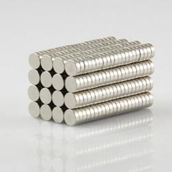 10st N50 3mmx1mm Runda Neodymiummagneter Rare Earth Magnet