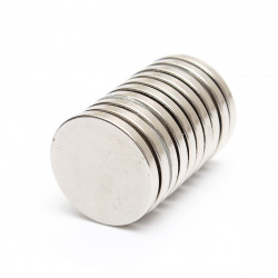 10st N52 25mmx3mm Runda Neodymiummagneter Rare Earth Magnet