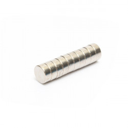 10st Stark Disc Magnet 12 × 5mm Rare Earth Neodym N35