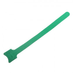 10x Velcro Cable Tie  Re-usable Hook & Loop Cable Tidy Wire Green