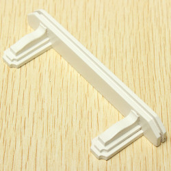 01.12 Dollhouse Miniholzmöbel Schlafzimmer Kleine Weiße Regal