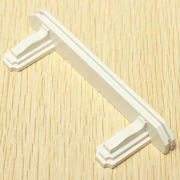 01.12 Dollhouse Miniholzmöbel Schlafzimmer Kleine Weiße Regal Spiel