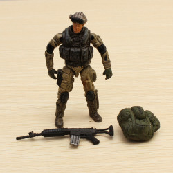 1:18 Special Forces Soldier Model GI Bevægelige Led Actionfigurer