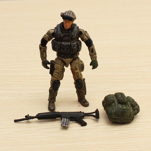 1.18 Special Forces Soldat Modell GI bewegliche Gelenke Action Figur Spiel