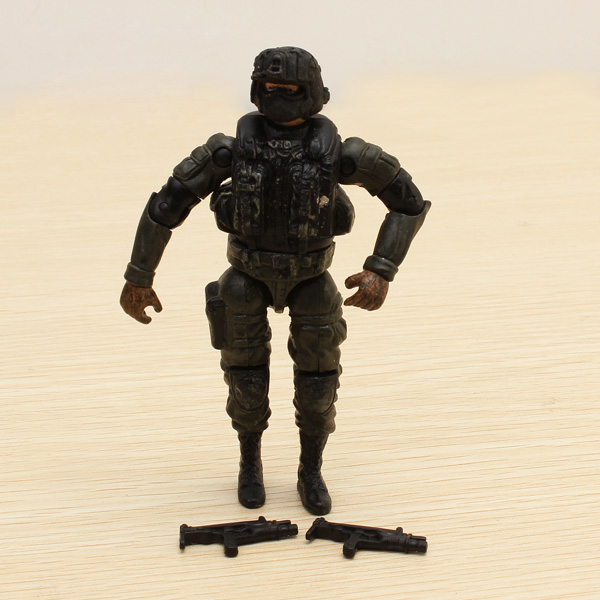 1:18 Special Forces Soldier Model GI Bevægelige Led Actionfigurer Spil & Lege