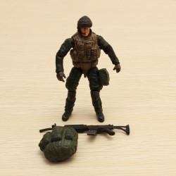 1.18 Special Forces Soldat Modell GI bewegliche Gelenke Action Figur