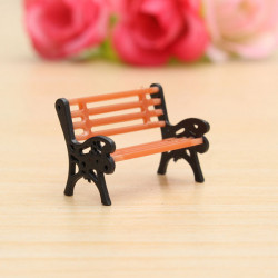01:30 Bench Chair Settee Garden Park Layout Scenery Railway