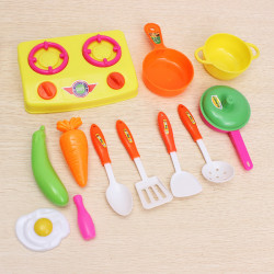 13pcs/set Kitchen Toys Small chef Mini kitchenware Kitchen Toys Set