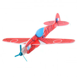 1 Pcs DIY Colorful Mini Bubble Paper Kids Toy Airplane Model