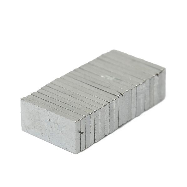 20 st Rare Earth Magneter 10x5x1mm N42 Färdigförpackade Coola Prylar