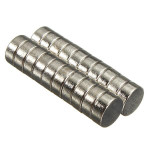 20 st Rare Earth Neodymiummagneter N50 7mm Diameter X 3 Mm Tjocklek Coola Prylar