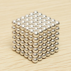 216Pcs 5mm White DIY Neocube Magic Beads Magnetic Balls Puzzle