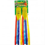2PCS Children Outdoor Toy Sandbag Earthbag Colorful Smile Sandbag Game & Scenery Toy