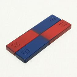 2stk Educational Ferrit Fysisk Experiment Bar Magnet Science Legetøj
