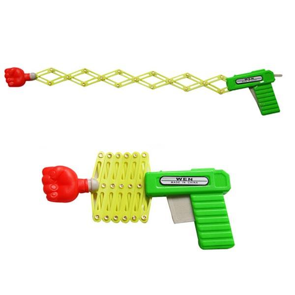 2PCS Fist Gun Telescopic Gun Kids Toys Classic Childhood Memories Game & Scenery Toy