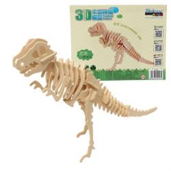 3D Jigsaw Puzzle Wooden Baby Kid Child Wisdom Animal Dinosaur Toy