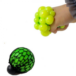 4st Vent Grape Boll Stress Relief Squeeze Leksak
