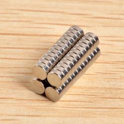 50st N40 4x1.5mm Neodymiummagneter Rare Earth Magnet
