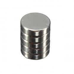5Pcs Strong Round Disc Cylinder Magnets 8 mm x 2 mm
