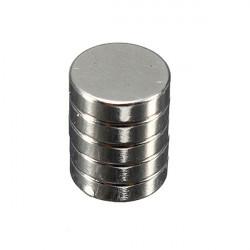 5st Starka Rund Skiva Cylinder Magneter 8 Mm X 2 Mm