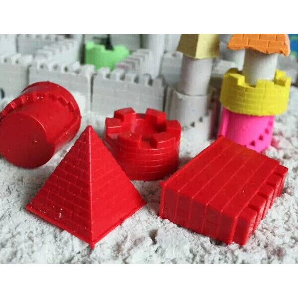 Ein reizendes Schloss 4 Stück Sand Schloss Set Spiel