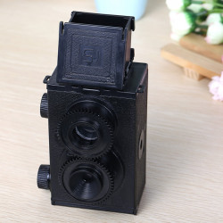 Adult's Science Vintage Twin-lens Reflex Camera DIY Assembled Camera