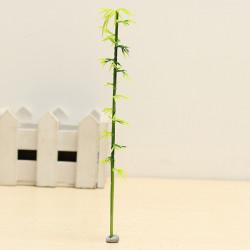 Arkitektonisk Bambus Model Trees Plast Bamboo Træer