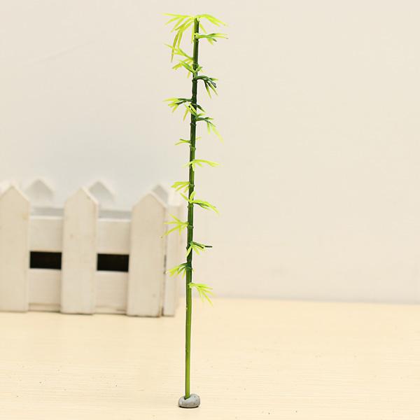 Architektonische Bamboo Modell Bäume Plastikbambusbäume Spiel
