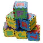 Baby Farverige EVA Foam Alfabetets Bogstaver Numbers Mat Puslespil Pædagogisk Legetøj