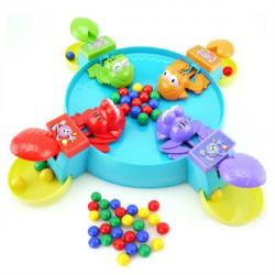 Perlen Frosch essen Bohnen Die Kugel Desktop Familienspiele Lernspielzeug